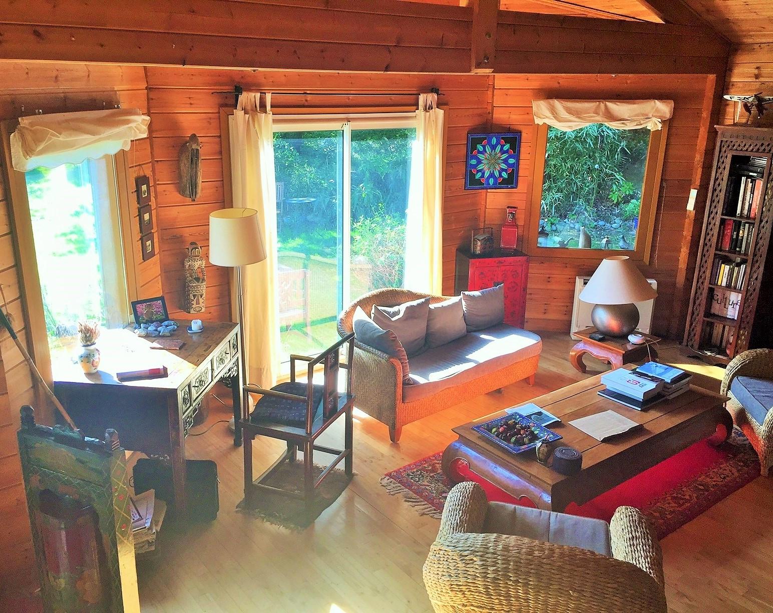 toulouse pouvourville maison bois t6 sur parc 2600m2. Black Bedroom Furniture Sets. Home Design Ideas