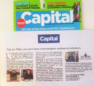 Toit en Tête Capital Avril 2018